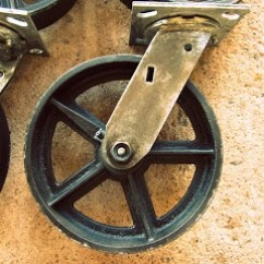 Heavy Duty Kitchen Chairs Martha Stewart Towels Vintage Rustic Casters | Diy... One Day Pinterest ...