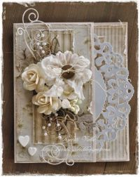 15+ best ideas about Shabby Chic Cards on Pinterest