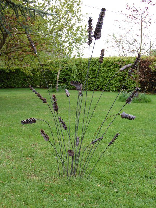 25 Best Ideas About Recycled Garden Art On Pinterest Metal