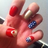 17 Best ideas about Wonder Woman Nails on Pinterest ...