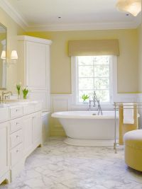 Top 25 ideas about Yellow Bathrooms on Pinterest | Yellow ...