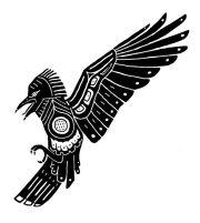 1000 ideas celtic raven