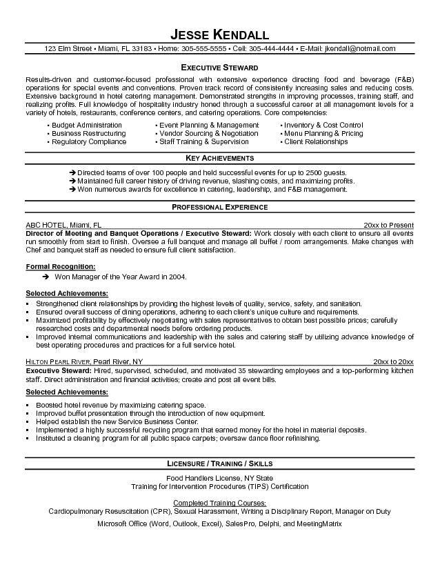professionally written resume
