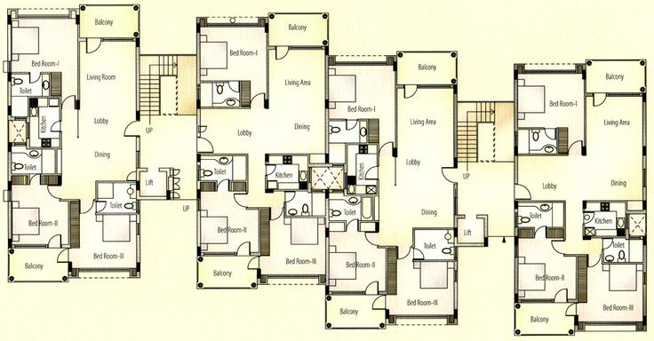 apartment unit plans  Apartments Typical Floor Plan Apartments Ground Floor Stilted Parking