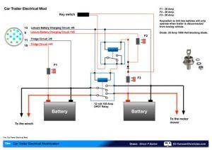 leisure battery charging circuit diagram   van electrics