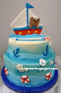 17 Best ideas about Nautical Baby Shower Cakes on ...