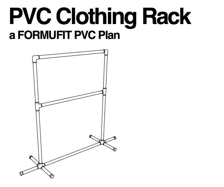 Great PDF (free) plans for a laundry room clothing rack