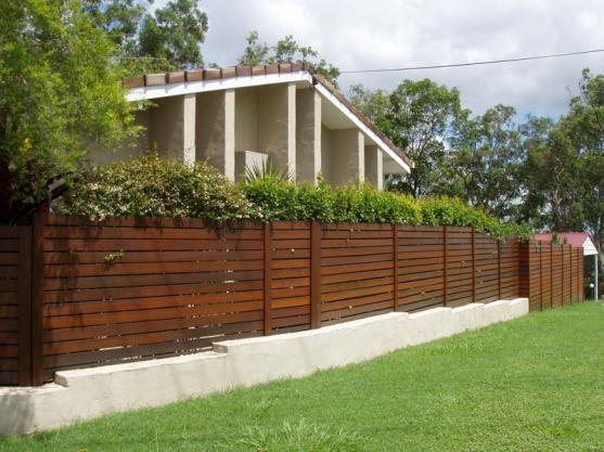 20 Best Images About Fence Ideas On Pinterest Concrete Walls