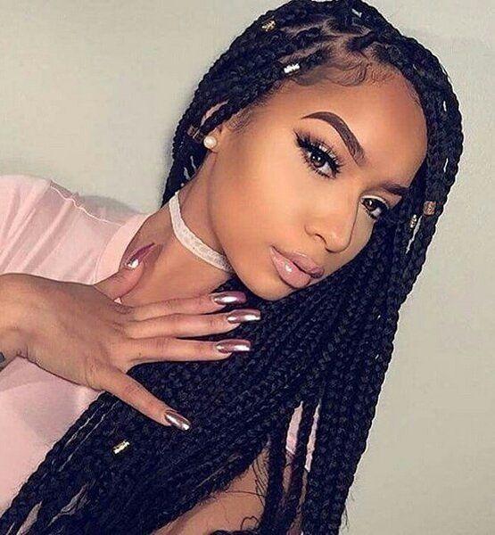 25 best ideas about Black girl braids on Pinterest