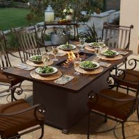 52 best images about Fire Pit Dining Table on Pinterest ...