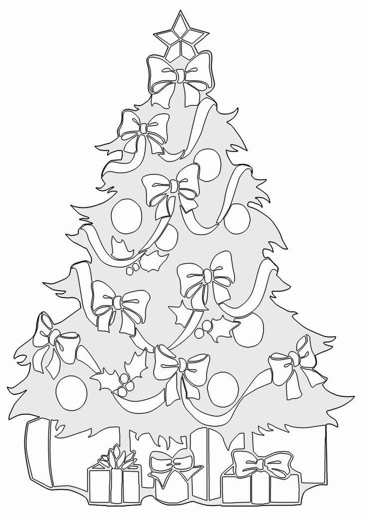 Malvorlagen weihnachten weihnachtsbaum - Ausmalbilder für