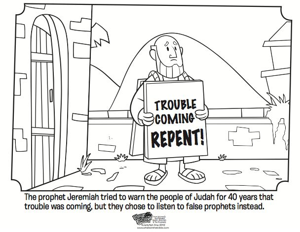 Kids coloring page from What's in the Bible? featuring