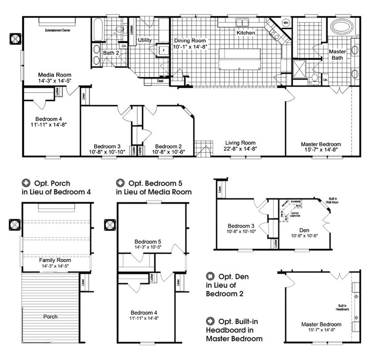 1000 ideas about Modular Home Floor Plans on Pinterest
