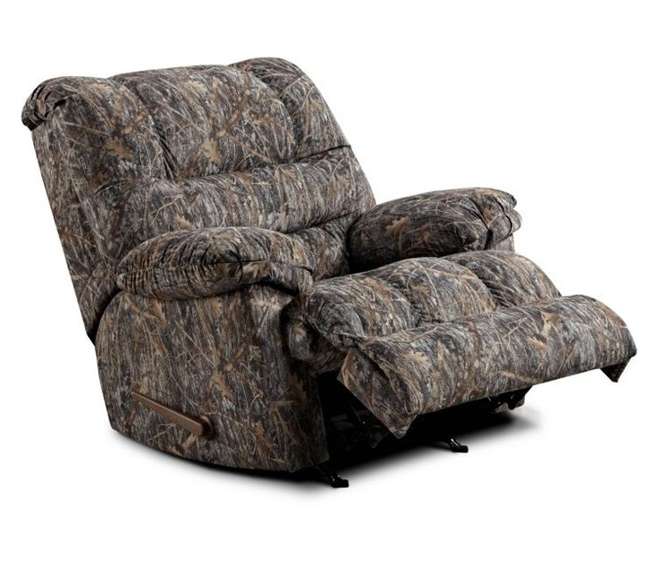Simmons Camouflage Microfiber RockerRecliner by United