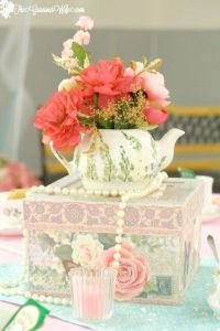 25+ best ideas about Tea party centerpieces on Pinterest