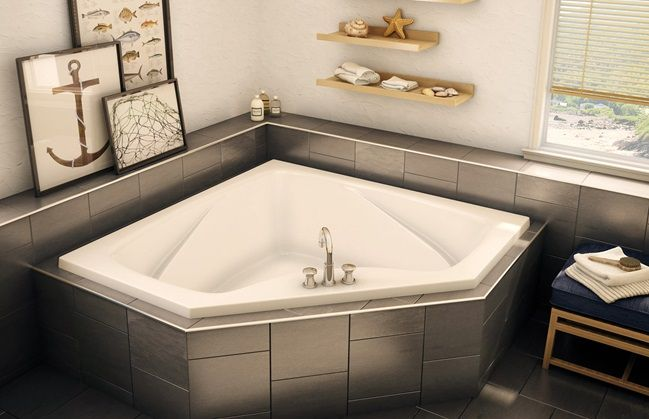 AKER CT2 6060 Rner Bathtub 2 Backrests