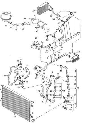 Audi A3 Cooling System Diagram | Audi | Pinterest