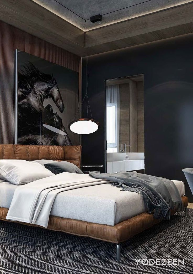 25+ best ideas about Masculine Bedrooms on Pinterest