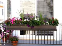 25+ best ideas about Deck railing planters on Pinterest ...