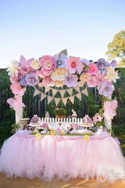 25 Best Ideas About Garden Theme Birthday On Pinterest Flower