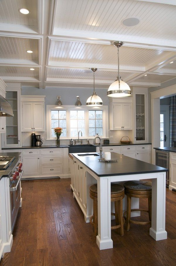 17 Best Ideas About Slate Countertop On Pinterest Dark Countertops White Cabinets And