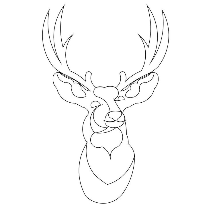 Free Coloring Pages Of Stags