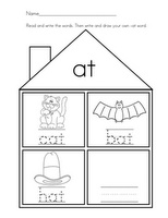 57 best images about Kindergarten Word Families on