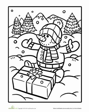 112 best images about Coloring & Activity Pages: Christmas