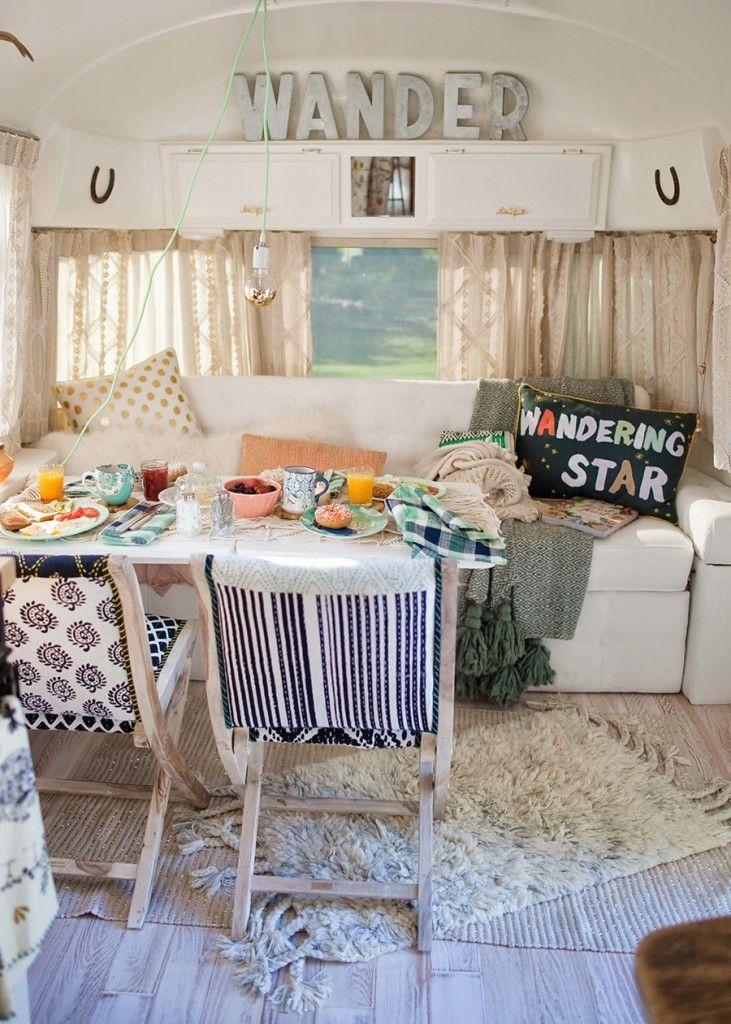 kitchen tables art van grey chairs vintage camper remodel envy | remodeling