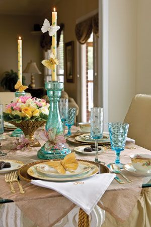 Sweet Spring Tablescape Tea Time Magazine All About