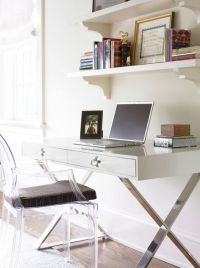 Modern office design with Phillipe Stark Louis Ghost Chair ...