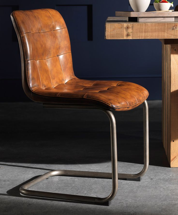 25 best ideas about Leather Dining Chairs on Pinterest