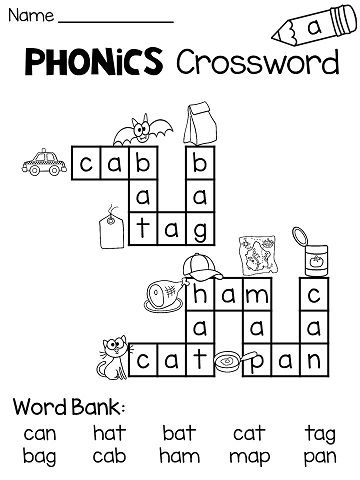 Short a, Crossword puzzles and Crossword on Pinterest