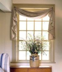 17 Best ideas about Window Scarf on Pinterest