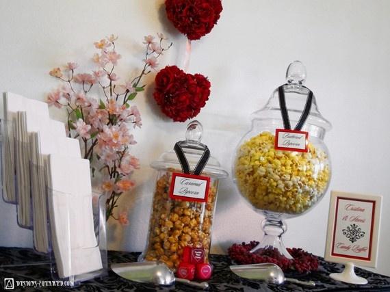 DIY Candy Buffet Setup