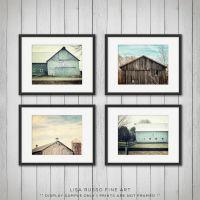 Barn Art, Teal Home Decor, Barn Photography, Rustic Decor ...