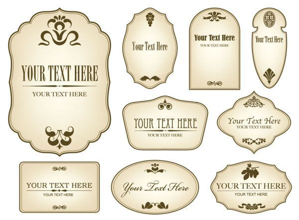 1000  Ideas About Free Label Templates On Pinterest | Label Templates