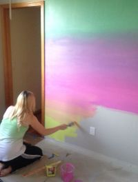 25+ best ideas about Rainbow wall on Pinterest | Rainbow ...