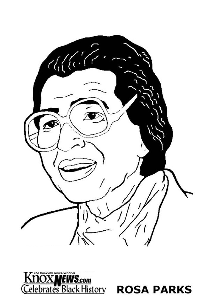 From KnoxNews.com: Black History Pages to Color — Rosa