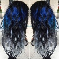 17 Best ideas about Blue Hair Colors on Pinterest