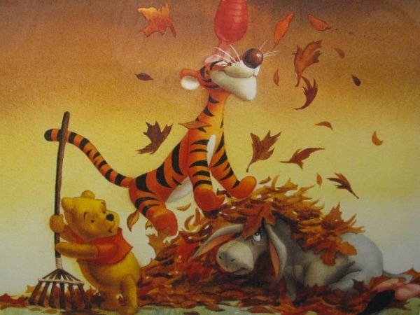 Winnie The Pooh Fall Wallpaper Winnie The Pooh Fall Pictures Neapolitan Image 1