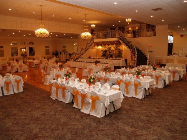 orange wedding reception pictures  Photo Gallery  Photo