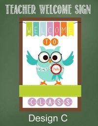 25+ best ideas about Teacher welcome signs on Pinterest ...