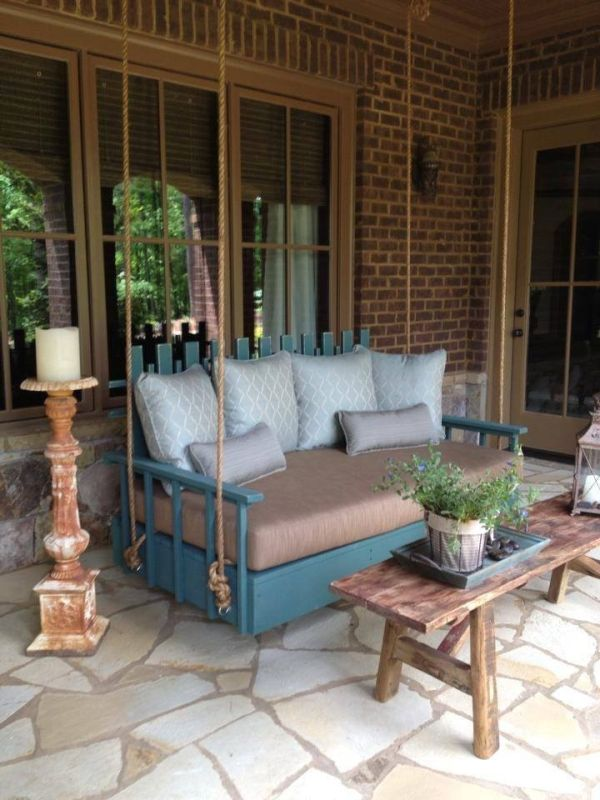 Unique Porch Swing Porches Sunrooms And Conservatory