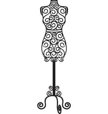 Forged mannequin vector, www.vectorstock.com Would make a