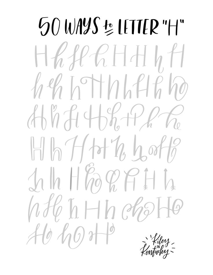25+ best ideas about Chalkboard Hand Lettering on