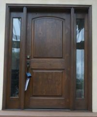 25+ best ideas about Entry door with sidelights on