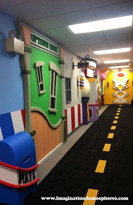 """Uptown Main Street"" Children's church theme designed by"