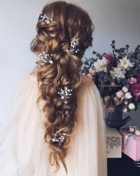 25+ best ideas about Long Bridal Hairstyles on Pinterest