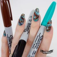 25+ Best Ideas about Sharpie Nail Art on Pinterest